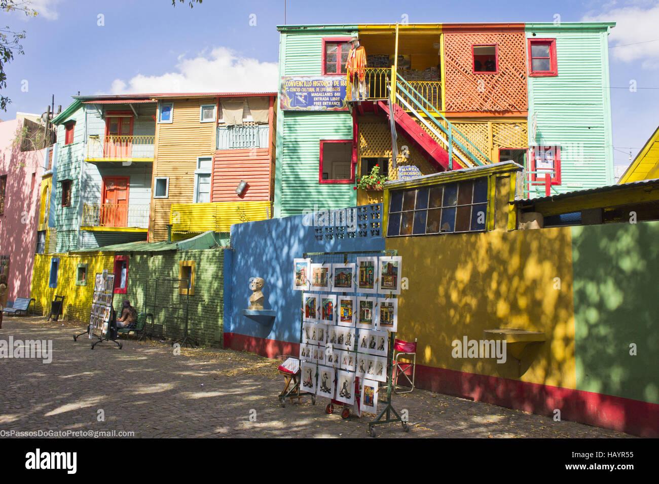L'ARGENTINE, Buenos Aires, La Boca Photo Stock