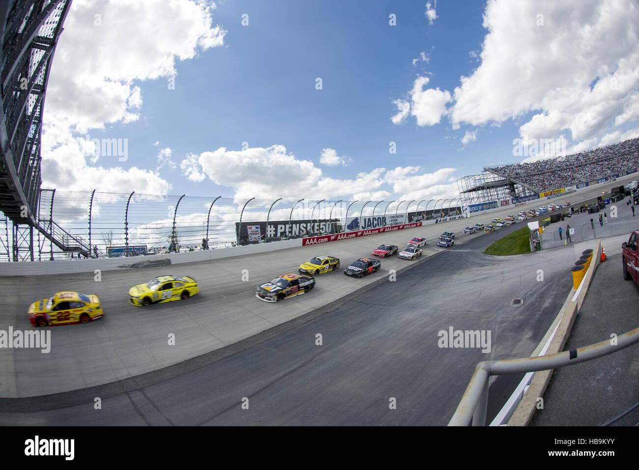 NASCAR: 15 mai 400 AAA Bénéficiant Autism Speaks Photo Stock