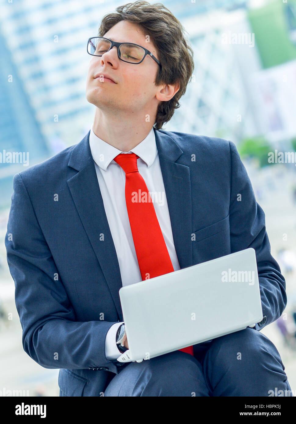 Vous pourrez vous détendre après une période de travail ou de tension Banque D'Images
