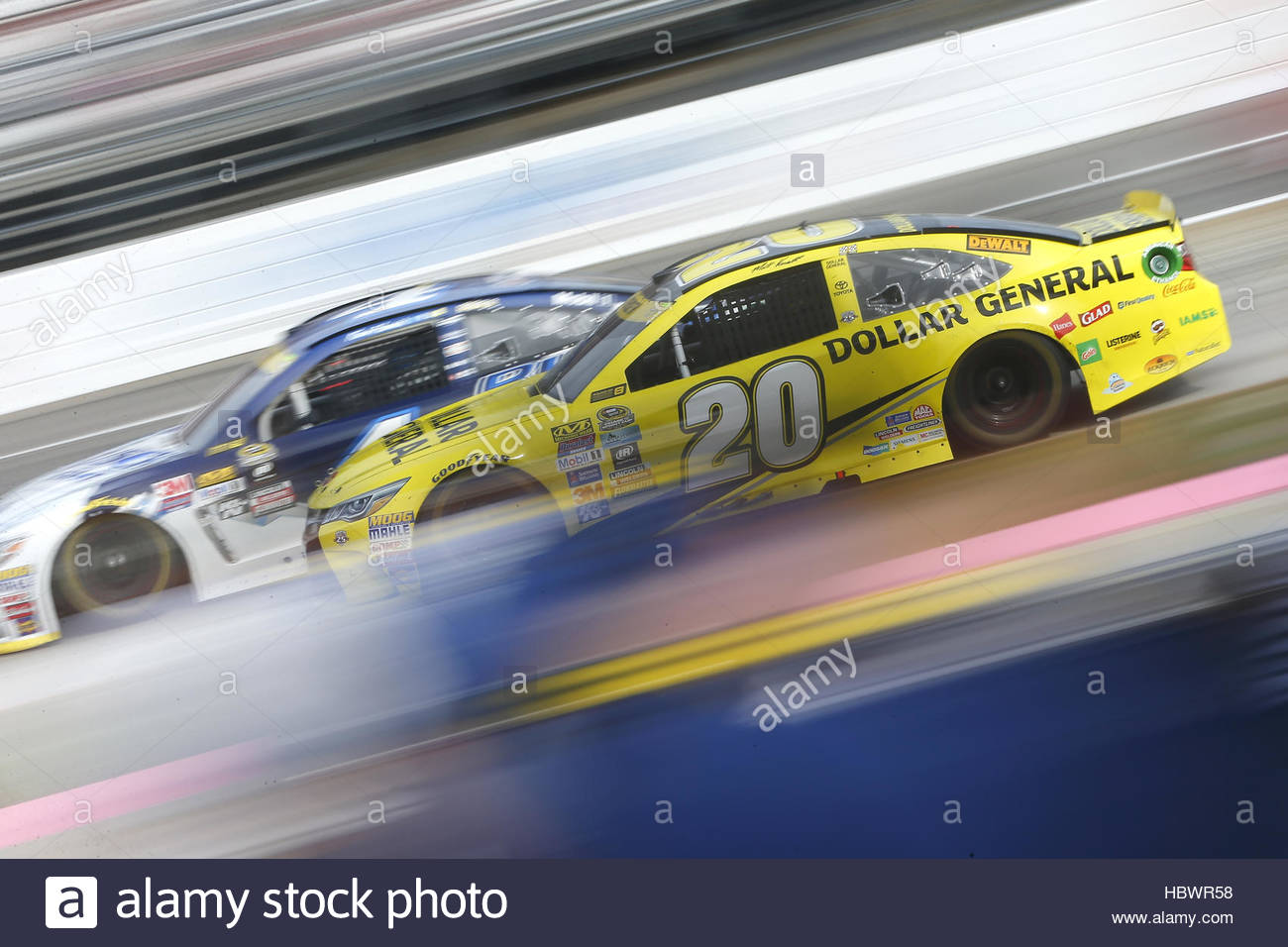 NASCAR : Oct 30 Goody's Fast Relief 500 Photo Stock