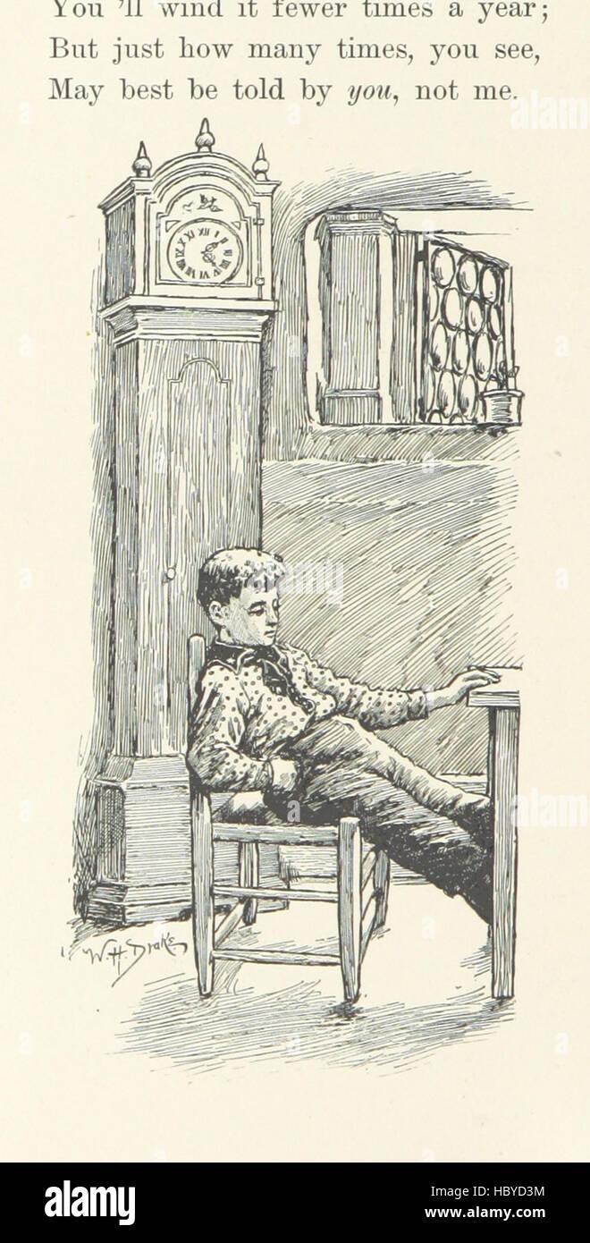 """Image prise à partir de la page 196 de """"quand la vie est jeune: un recueil de poésie pour les garçons et les filles' image prise à partir de la page 196 de """"quand la vie est jeune Banque D'Images"""