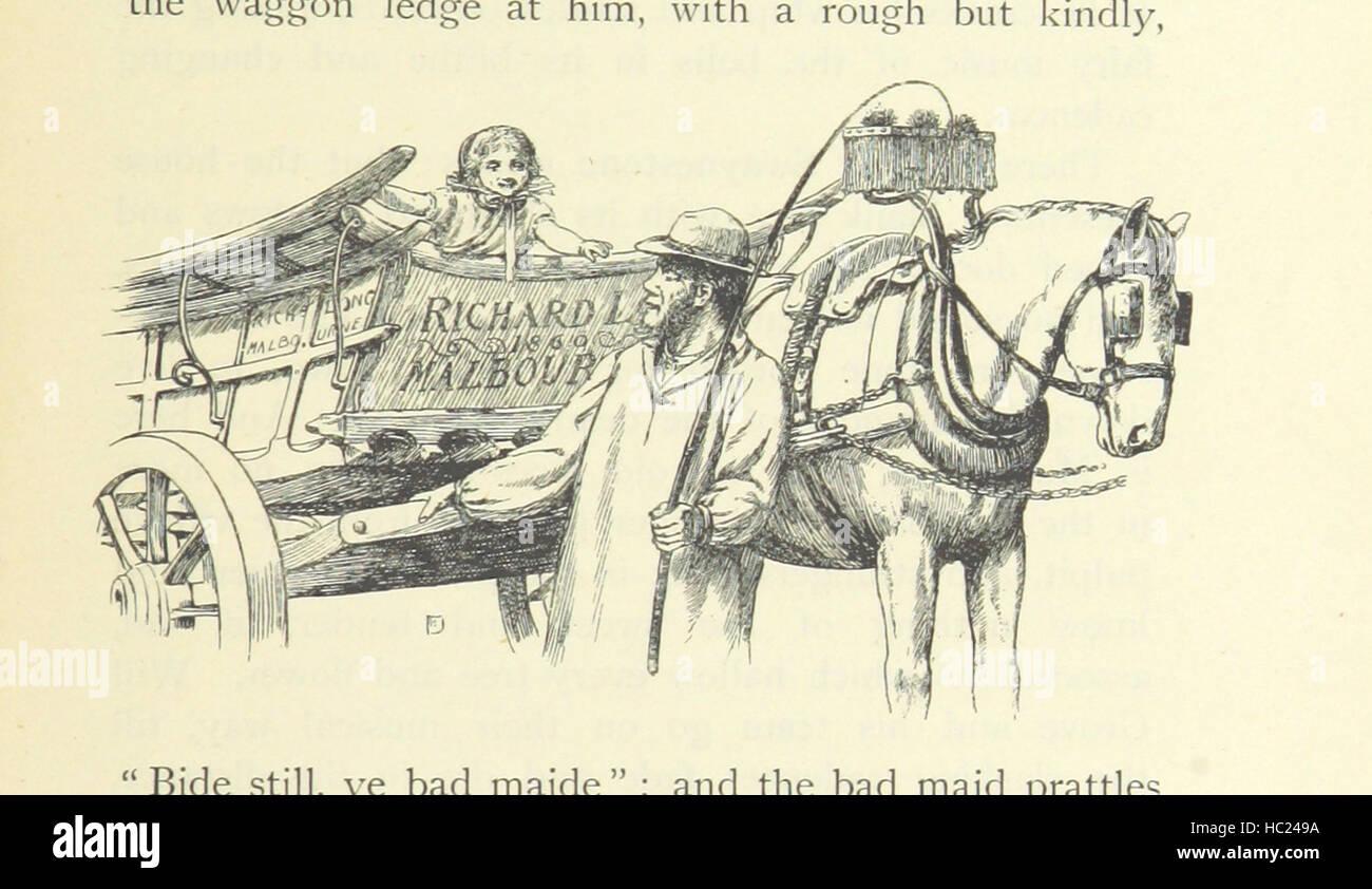 """Image prise à partir de la page 571 de """"Le Silence de Dean Maitland ... Avec illustrations, etc' image Photo Stock"""