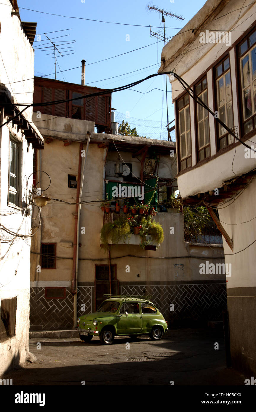damascus alley photos damascus alley images alamy. Black Bedroom Furniture Sets. Home Design Ideas