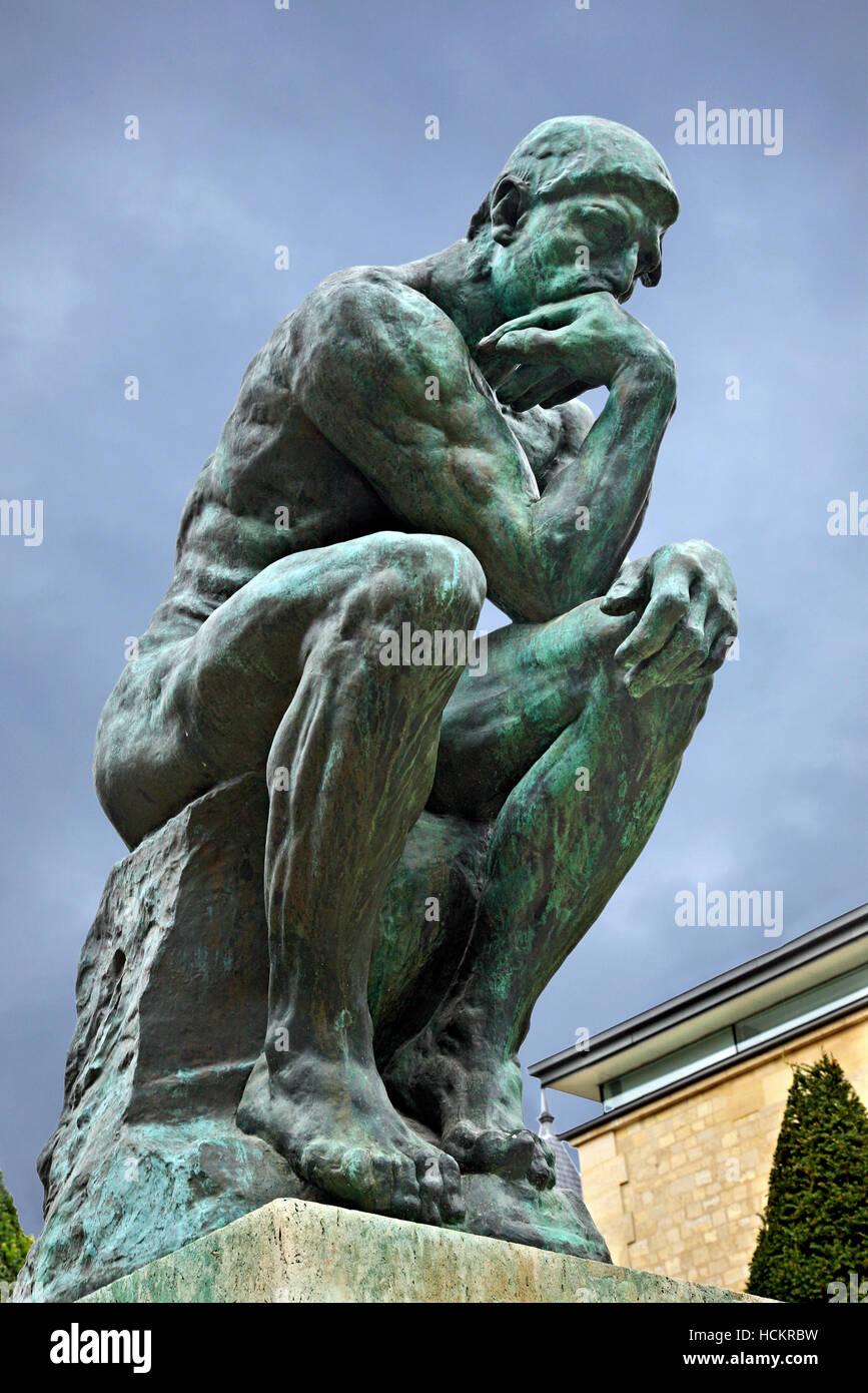Rodin Le Penseur Banque D Image Et Photos Alamy