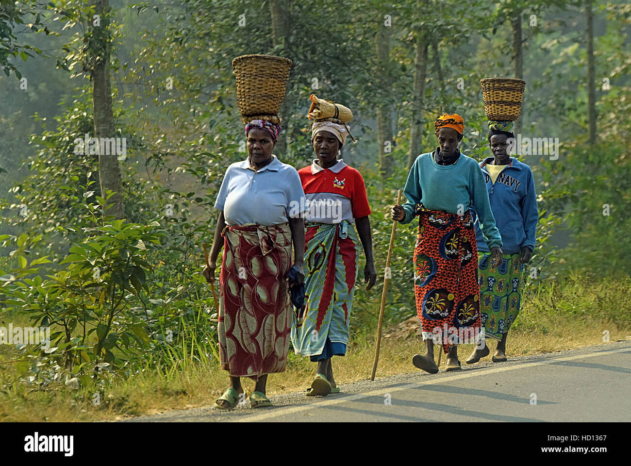 Afrique de l'Ouganda Photo Stock
