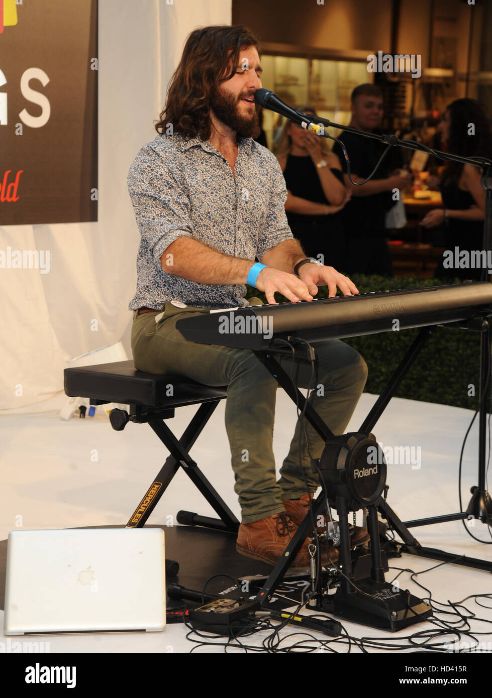 Westfield Stratford Concerts grand final avec: Alex Wheyby Où: London, Royaume-Uni Quand: 04 Oct 2016 Banque D'Images