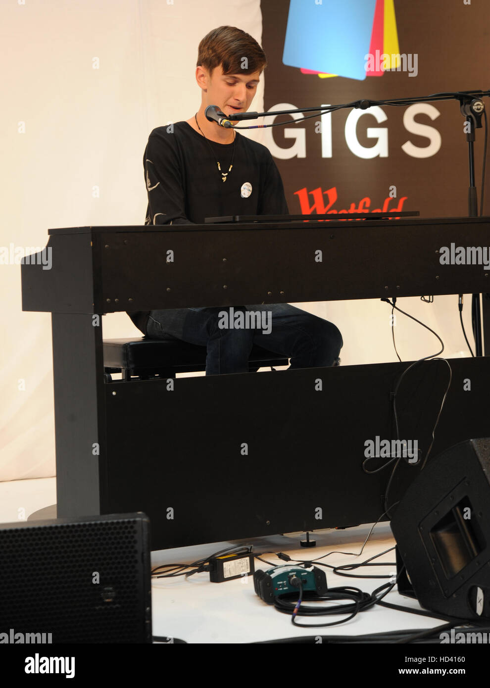 Westfield Stratford Concerts grand final avec: Ethan Smith Où: London, Royaume-Uni Quand: 04 Oct 2016 Banque D'Images