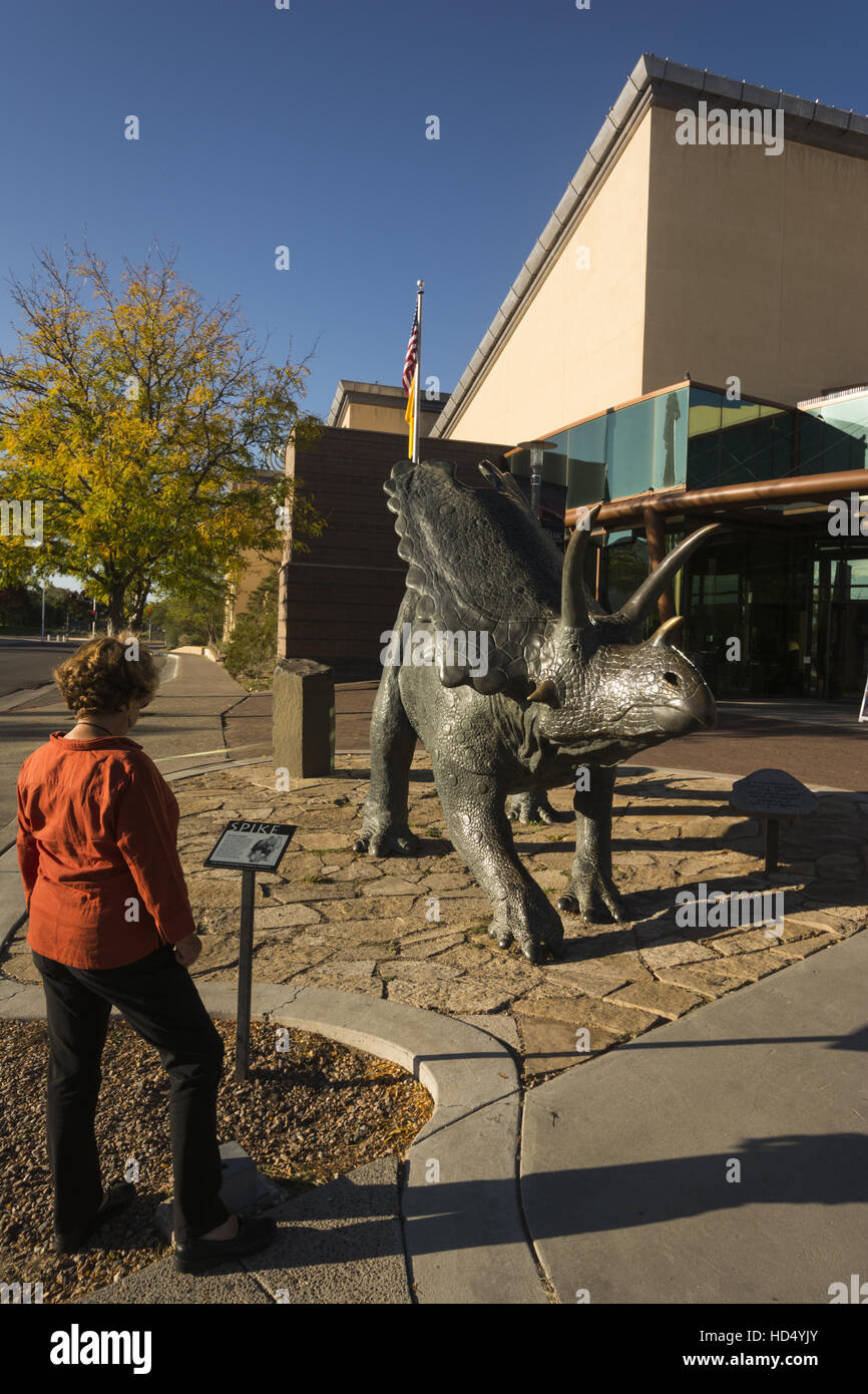 New Mexico, Albuquerque, New Mexico Museum of Natural History and Science Photo Stock