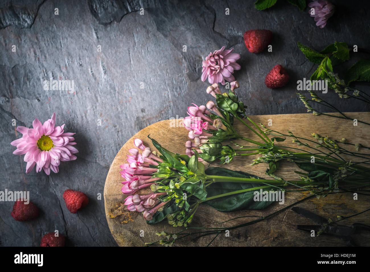 Fleur plante nature pétale de fleur belle adjudication Photo Stock