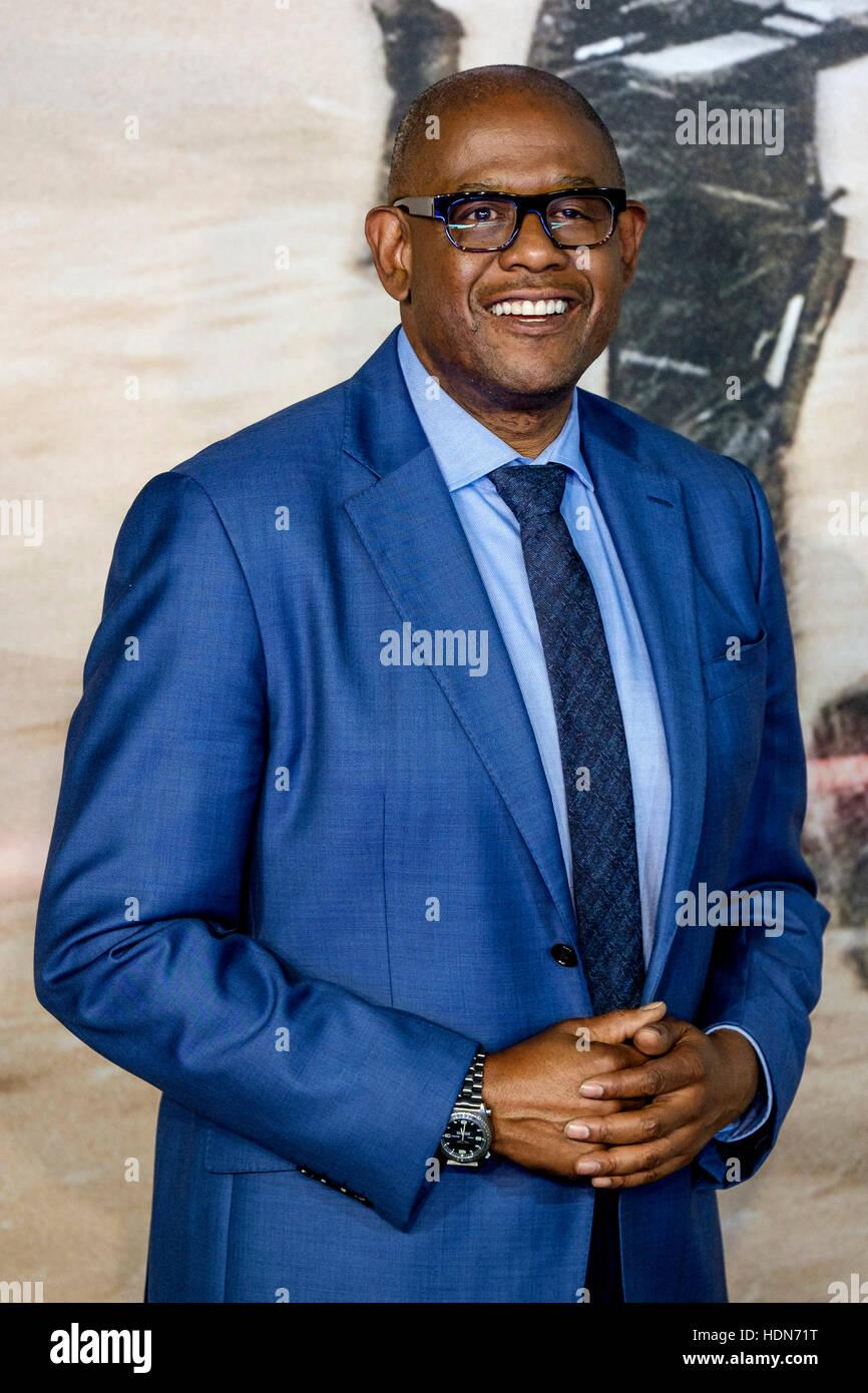 Forest Whitaker, assiste à l'événement de lancement d'un voyou: UNE HISTOIRE DE LA Photo Stock