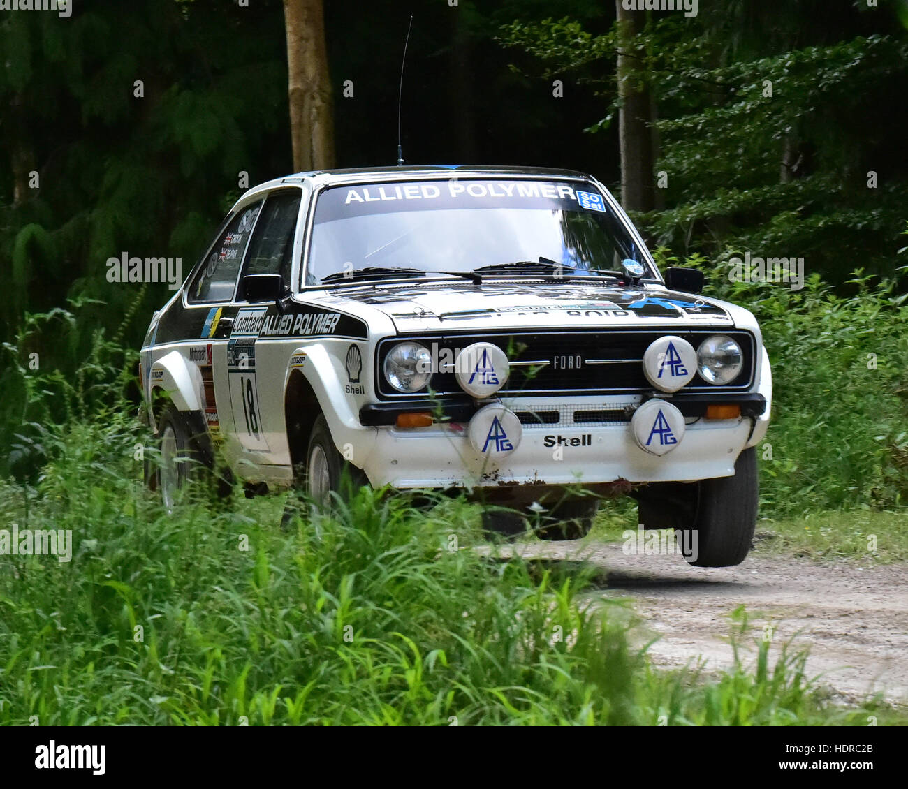 aziz tejpar ford escort mk2 rs 1800 forest rally goodwood festival of speed