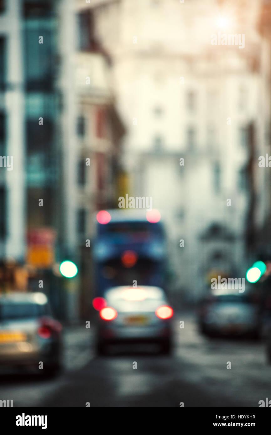 paysage de la ville Photo Stock