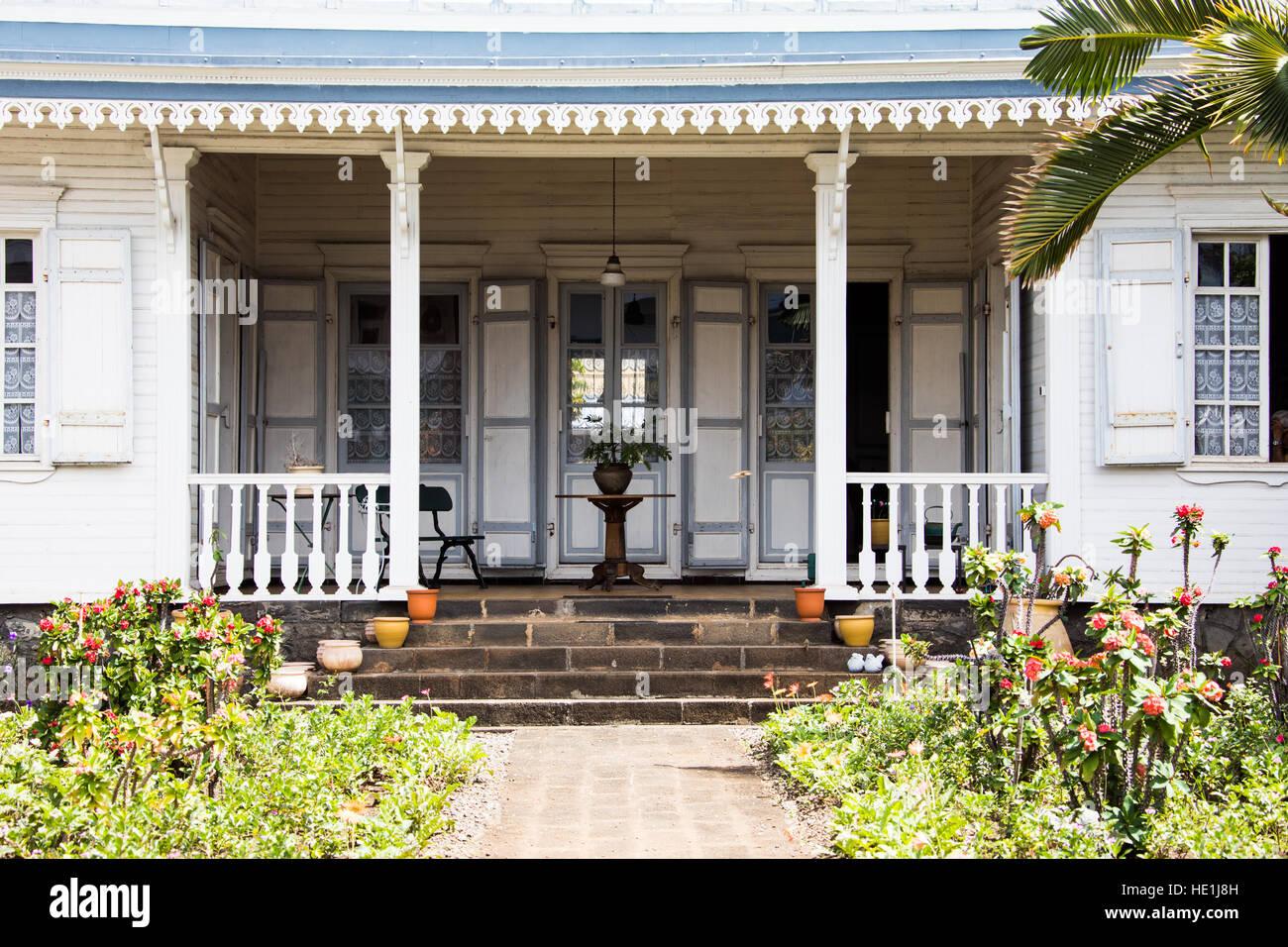 Maison Coloniale Francaise A St Denis Ile De La Reunion Photo