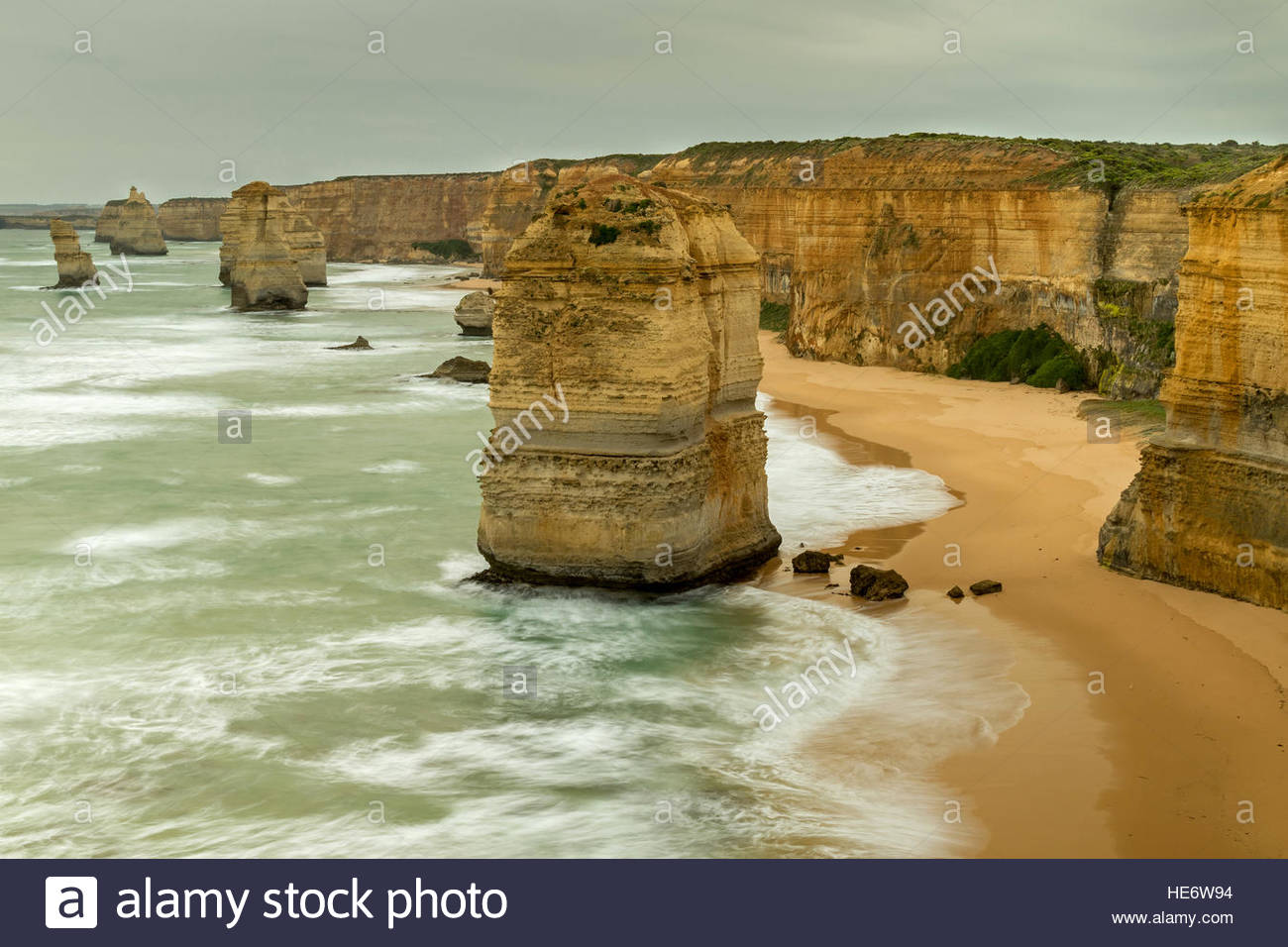 Douze Apôtres, Port Campbell National Park, Great Ocean Road, Victoria, Australie scenic drives Photo Stock