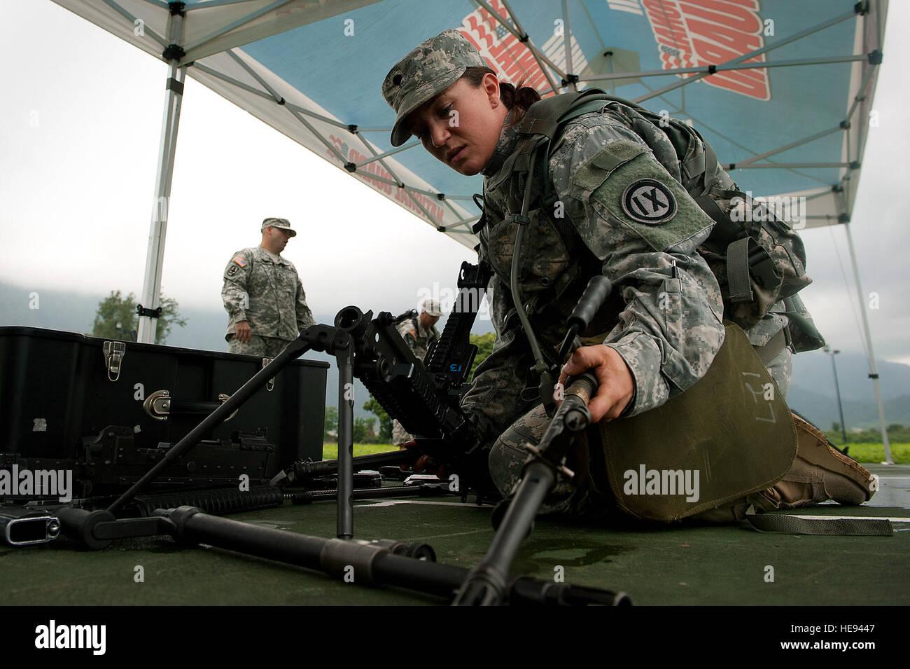 La CPS de l'armée américaine. Kristaline Peterson, 3e Groupe de soutien mobilisation spécialiste Photo Stock