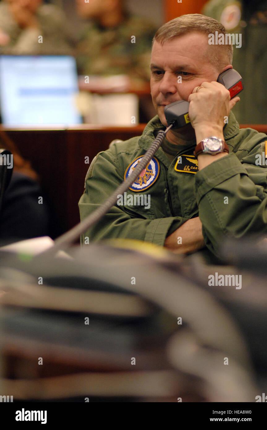 080220-F-6684S-194 Vice Président de l'état-major des armées le général James E. Cartwright, Photo Stock