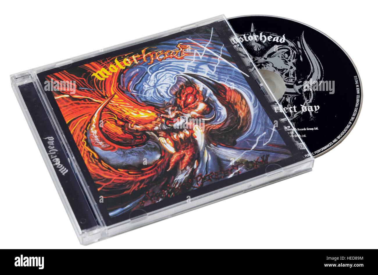 Une autre journée de Motorhead parfait CD Photo Stock