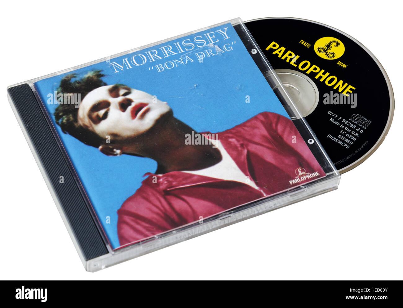 Morrissey Bona Drag CD Photo Stock