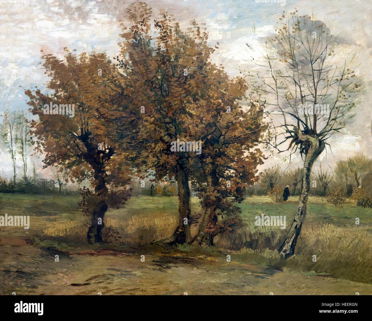 """Résultat de recherche d'images pour """"Vincent Van Gogh (1853-1890), Paysage d'automne, 1885."""""""