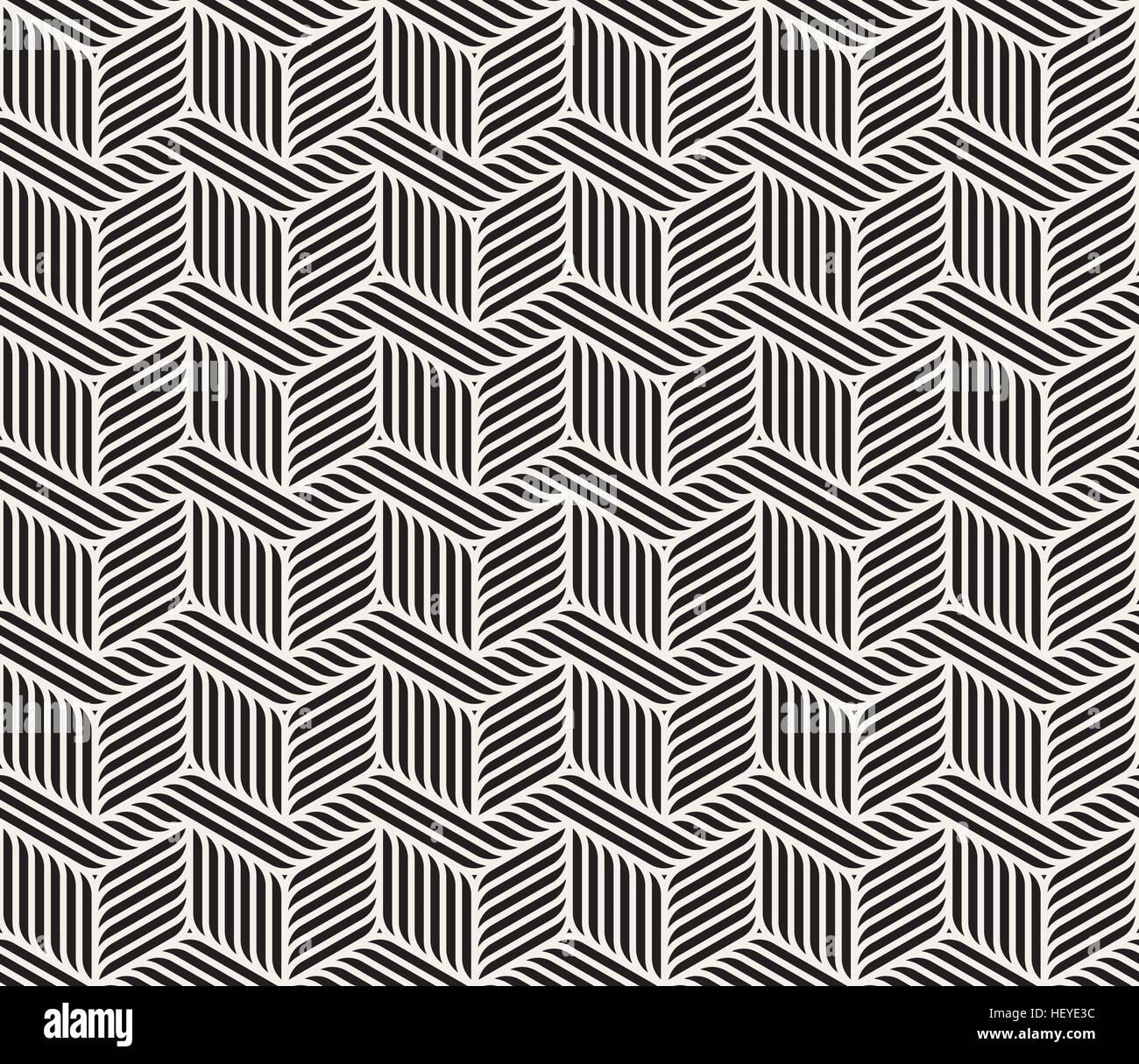 3962f2c44eff6 Seamless Vector noir et blanc motif géométrique des lignes en zig-zag  Abstract Background Photo