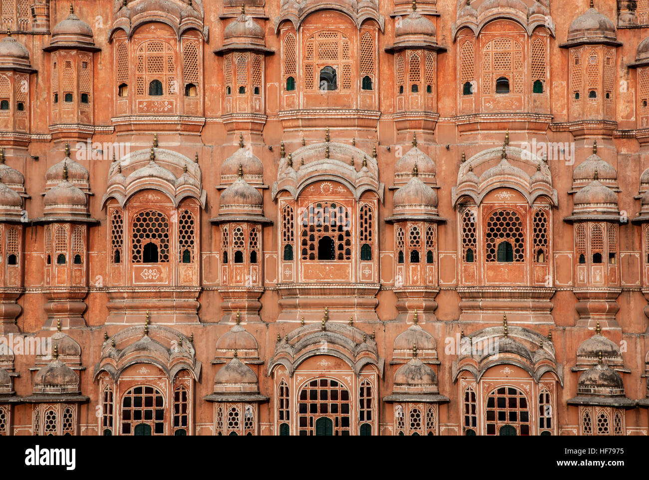 Hawa Mahal (palais des vents), Jaipur, Rajasthan, Inde Photo Stock