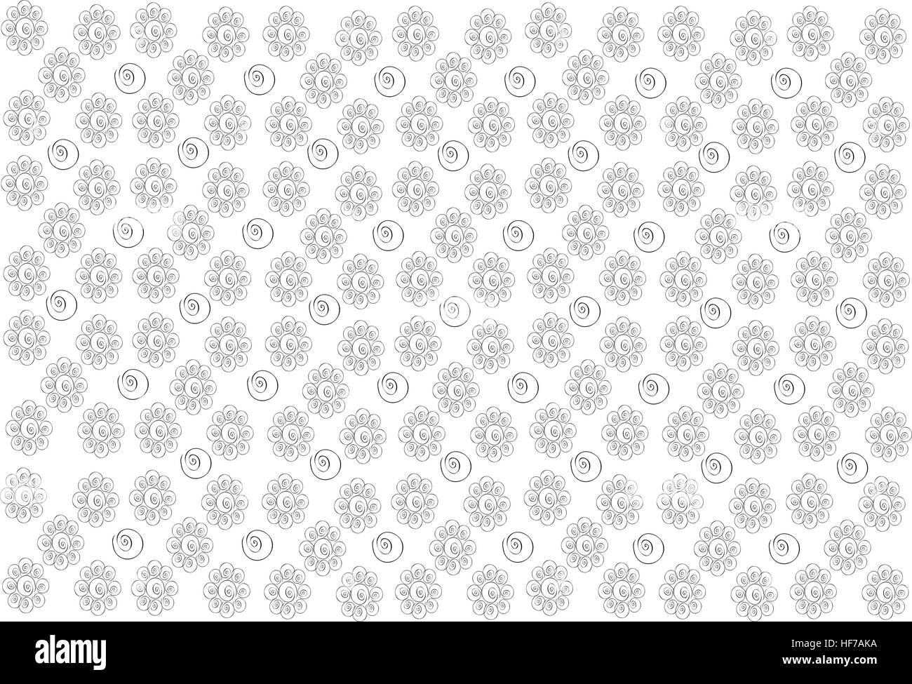 Thai Pattern Illustration De Belle Texture Papier Peint Fond Blanc