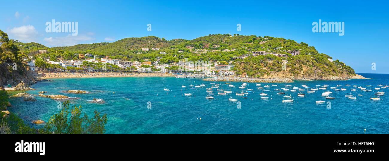 Llafranc, Costa Brava, Espagne Photo Stock