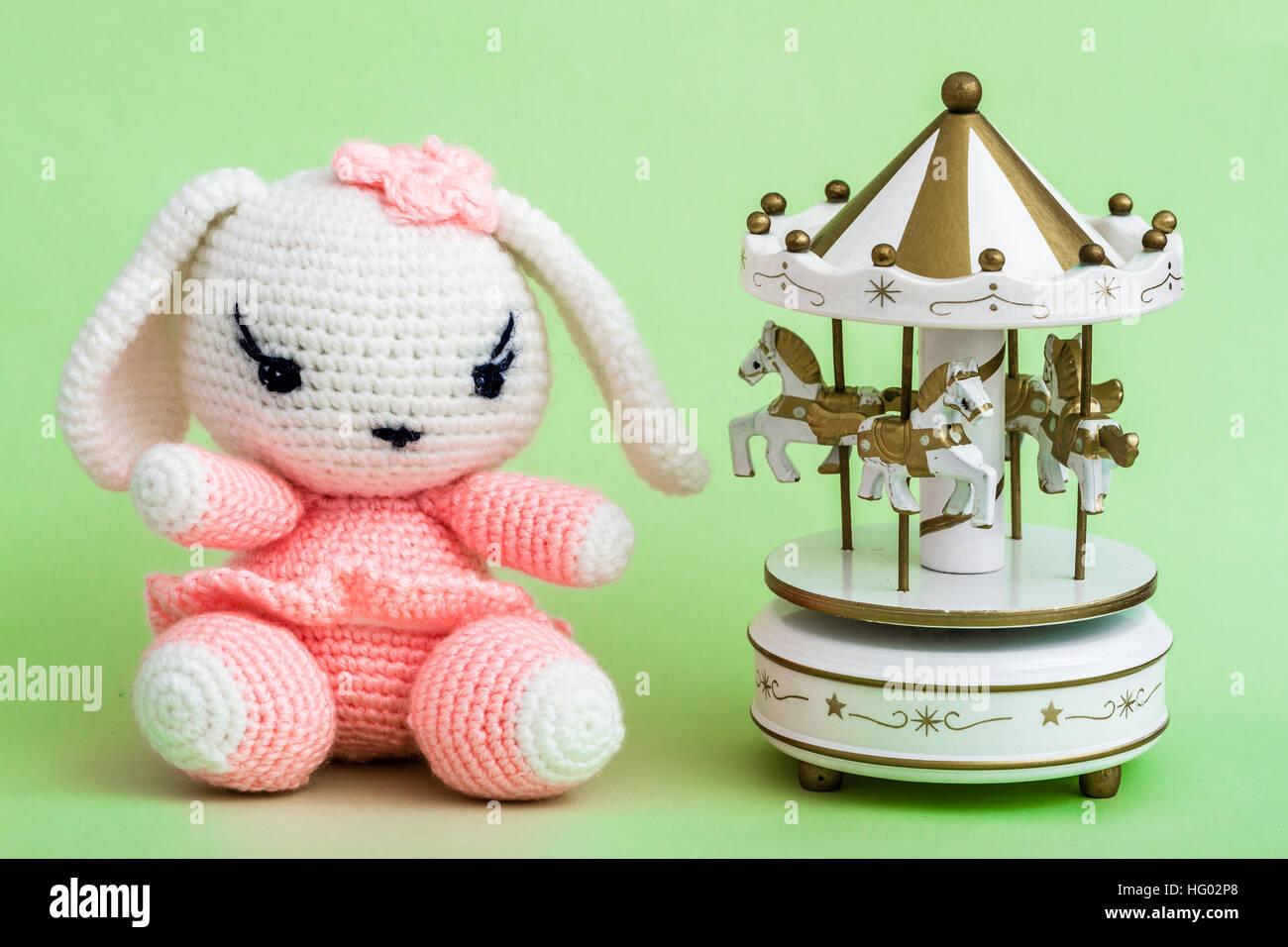 Amigurumi Crochet lapin jouet hochet Crochet bébé jouet cadeau ... | 956x1300
