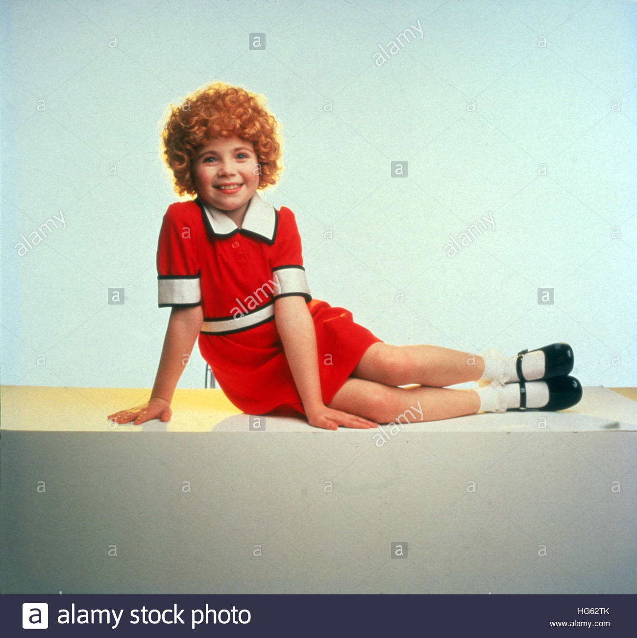 ANNIE (1982) - Photo: Aileen Quinn Photo Stock
