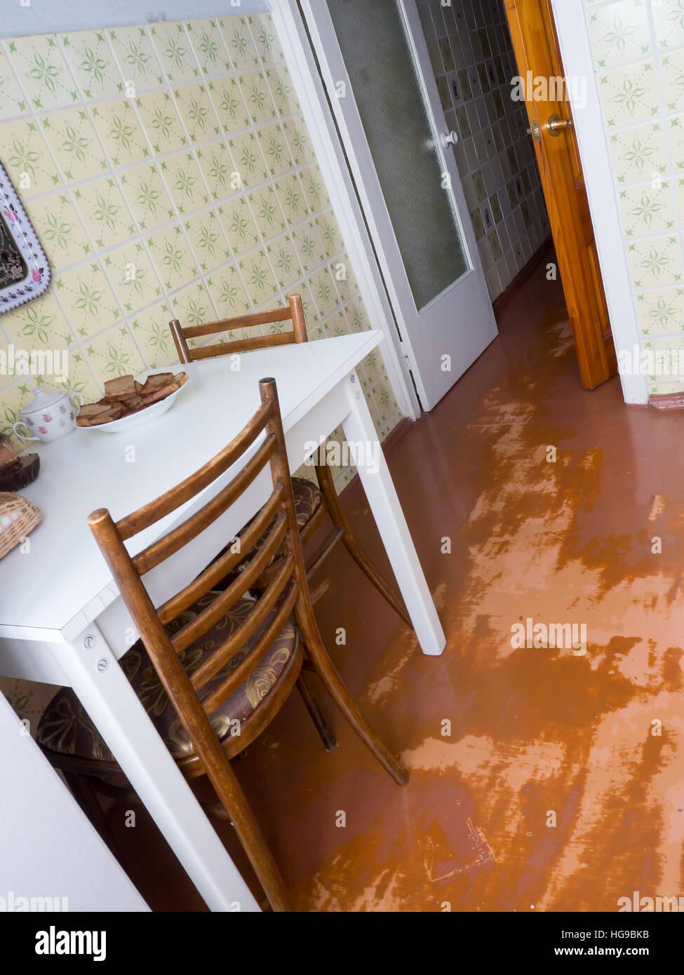 La cuisine d'artifices et des objets. Photo Stock