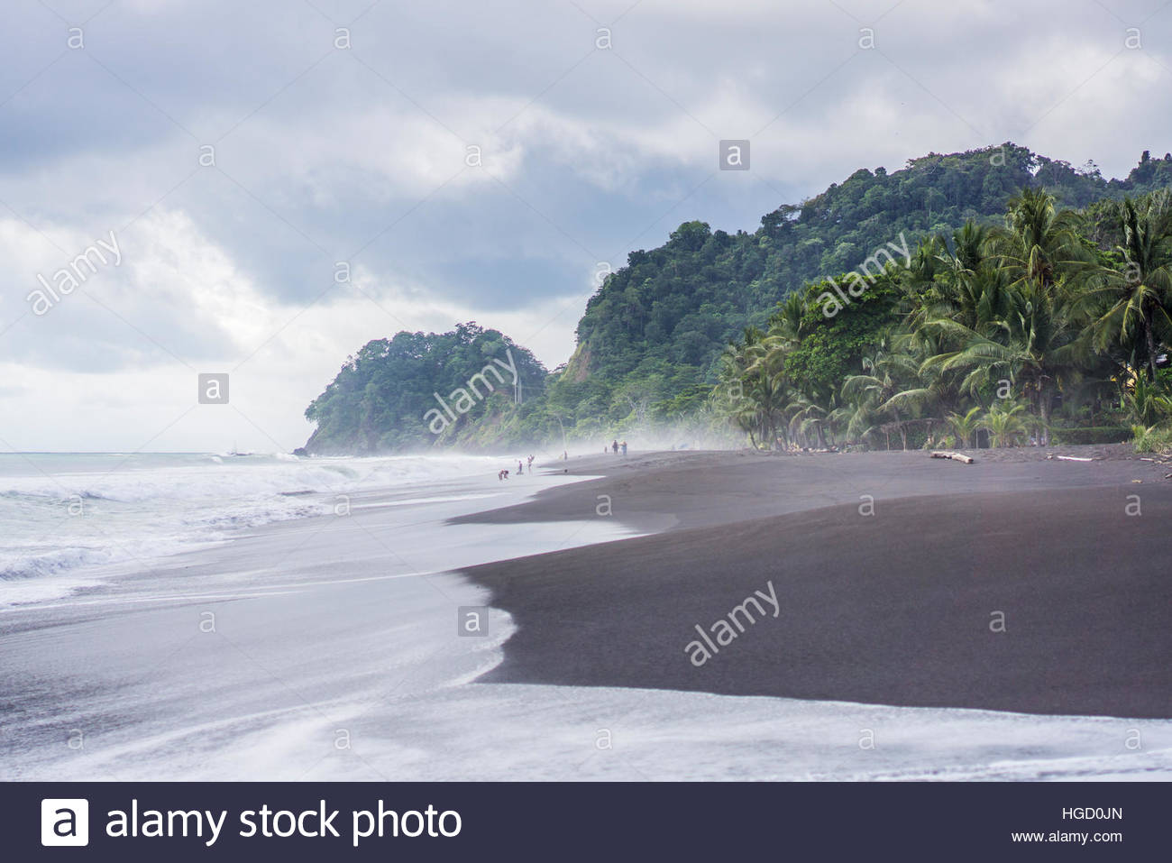 Playa Hermosa, costa rica, Amérique centrale 2015 Photo Stock