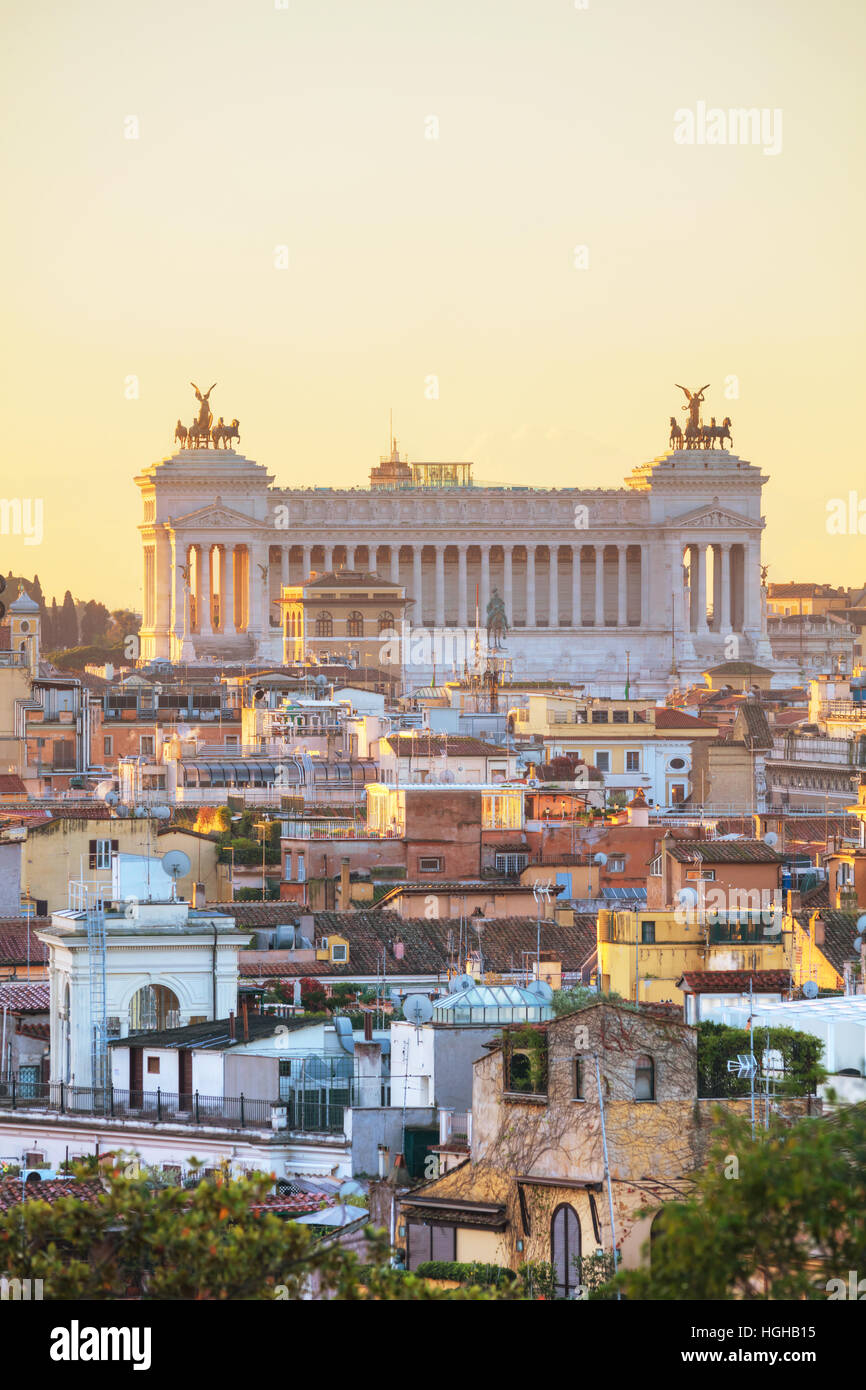 Altare della Patria monument à Rome, Italie Photo Stock