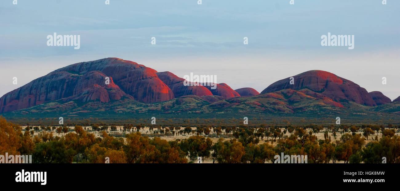 Olgas, Territoire du Nord, Australie Photo Stock