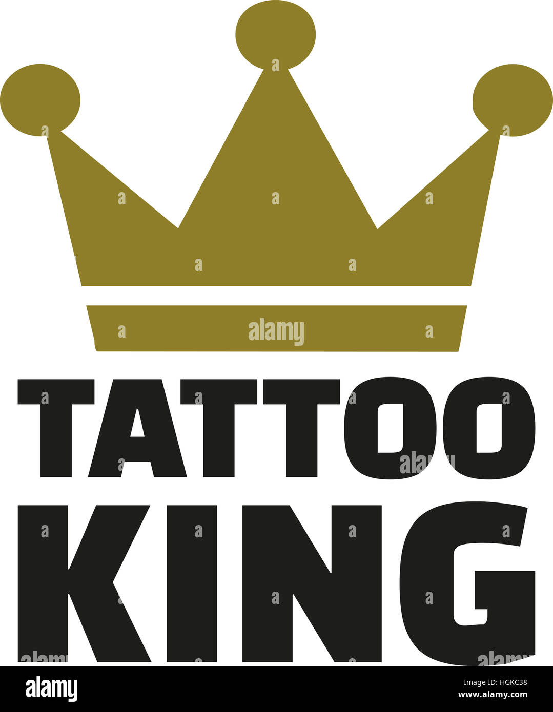 King Tattoo Photos King Tattoo Images Alamy