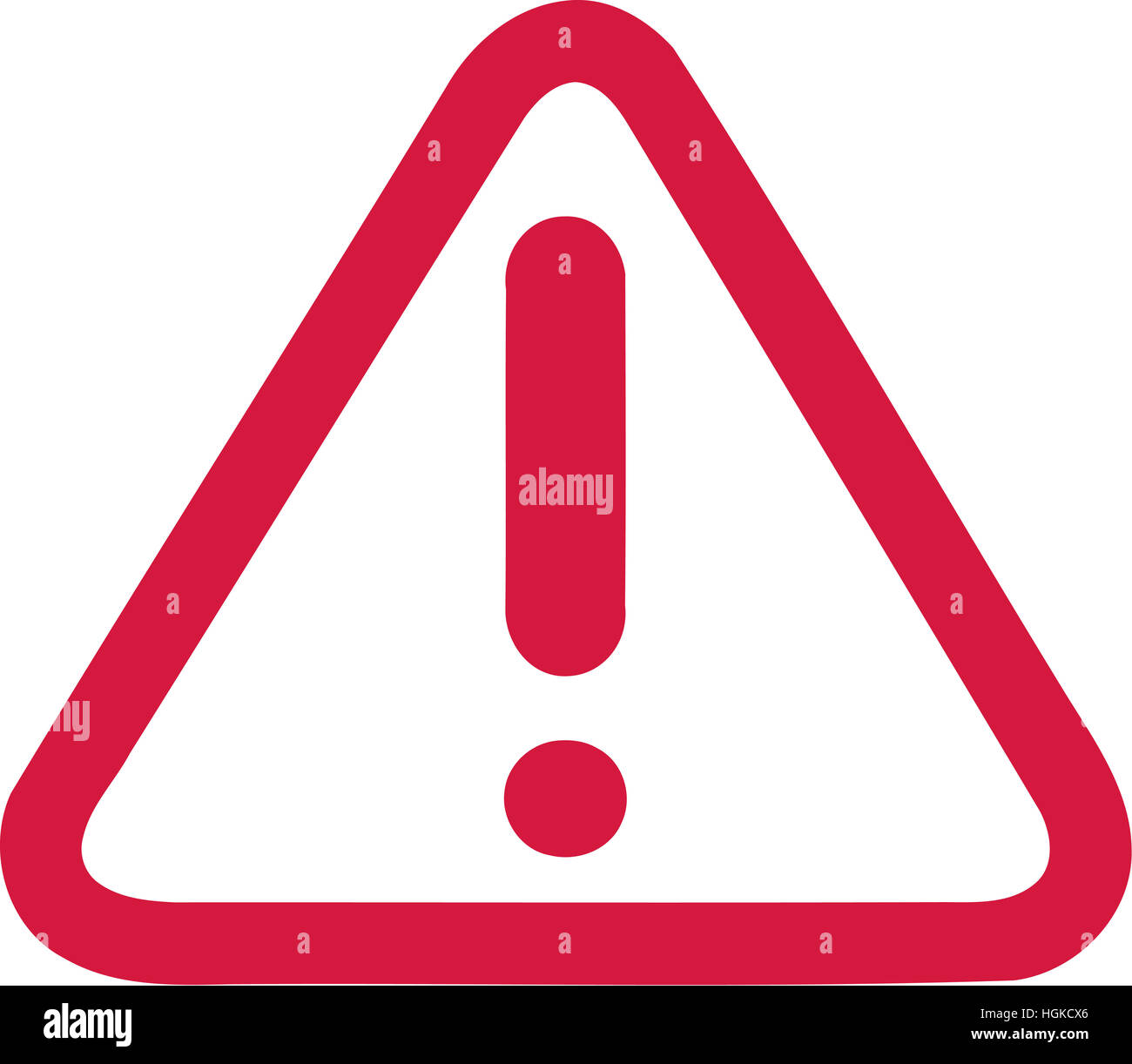 point d 39 exclamation rouge en signe d 39 avertissement banque d 39 images photo stock 130734302 alamy. Black Bedroom Furniture Sets. Home Design Ideas
