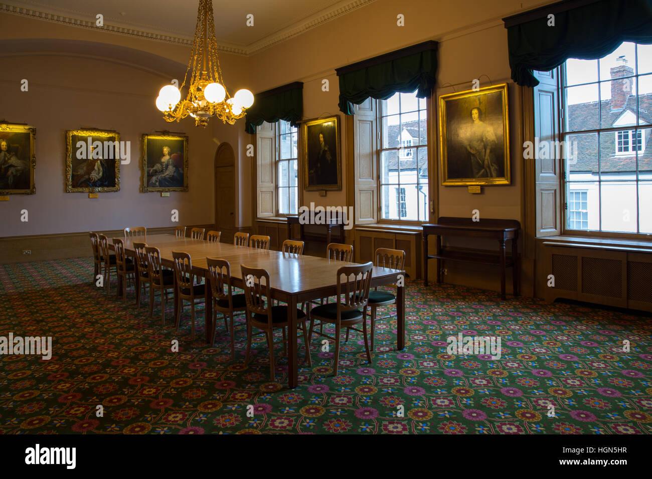 Décoration intérieure maison de campagne anglaise Banque D\'Images ...