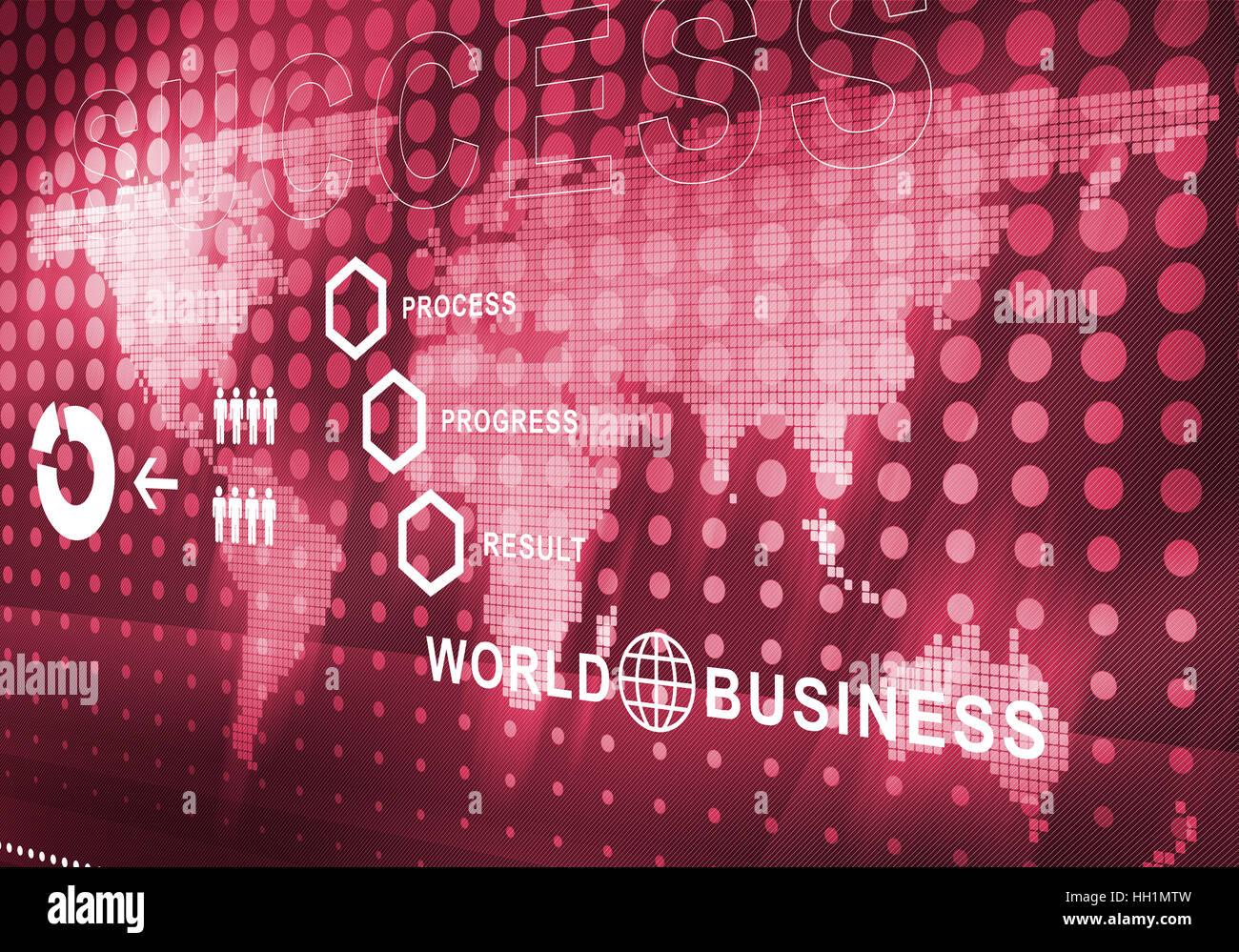 Résumé fond numérique d'affaires Banque D'Images