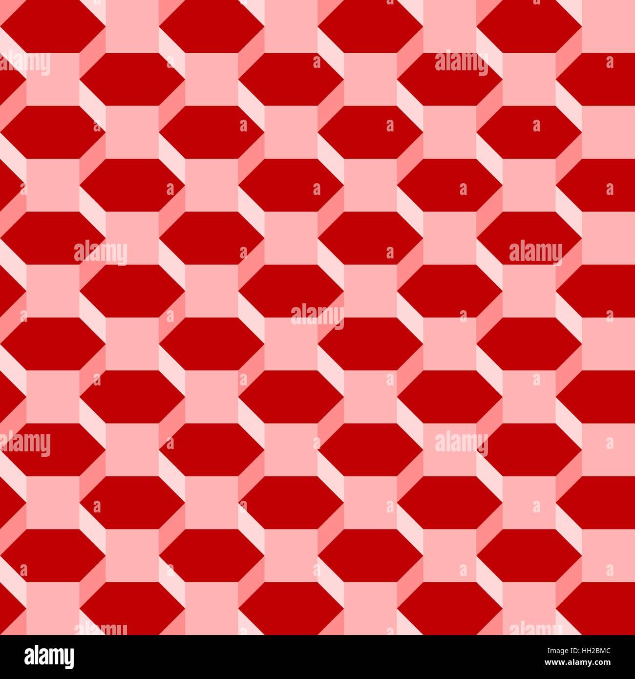 Hexagone Isometrique Modele Geometrique 3d Modifiable Sans Resume