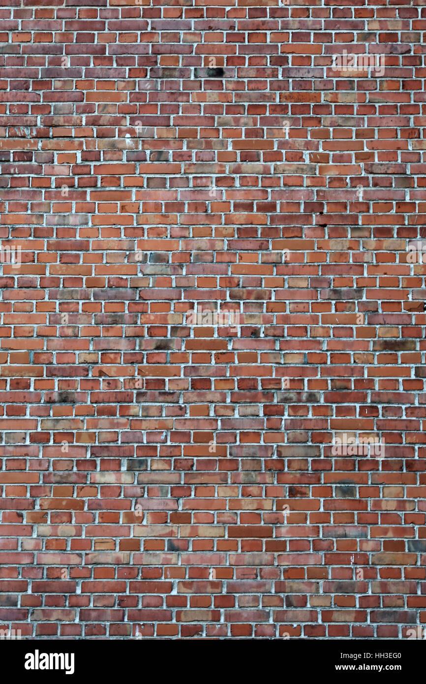 Mur de brique briques fond texture fond dark old Photo Stock
