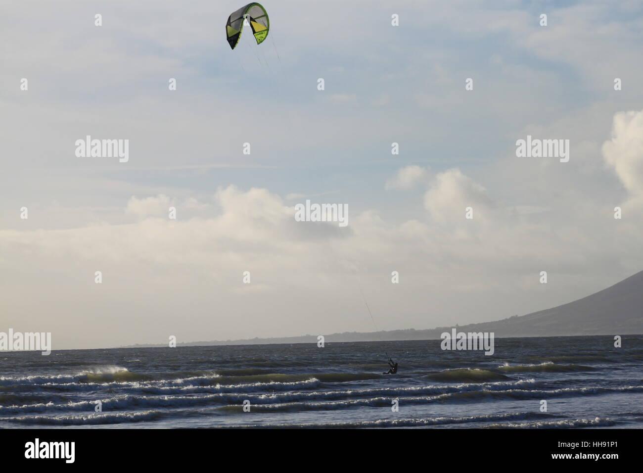 Planche à voile Photo Stock