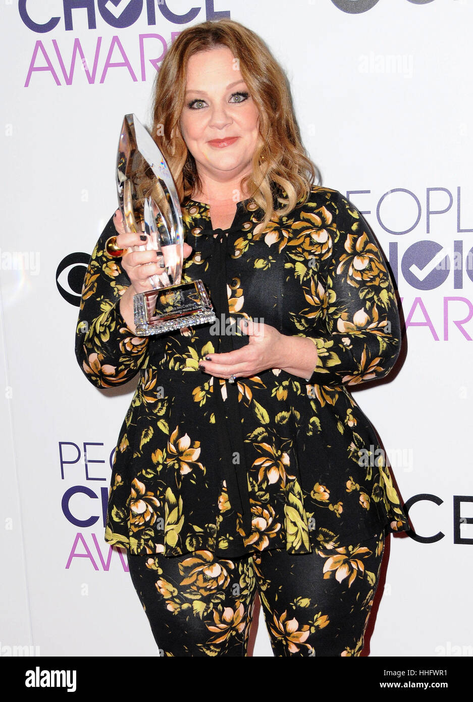 Los Angeles, CA, USA. 18 janvier, 2017. 18 janvier 2017 - Los Angeles, Californie - Melissa McCarthy. 2017 People's Photo Stock