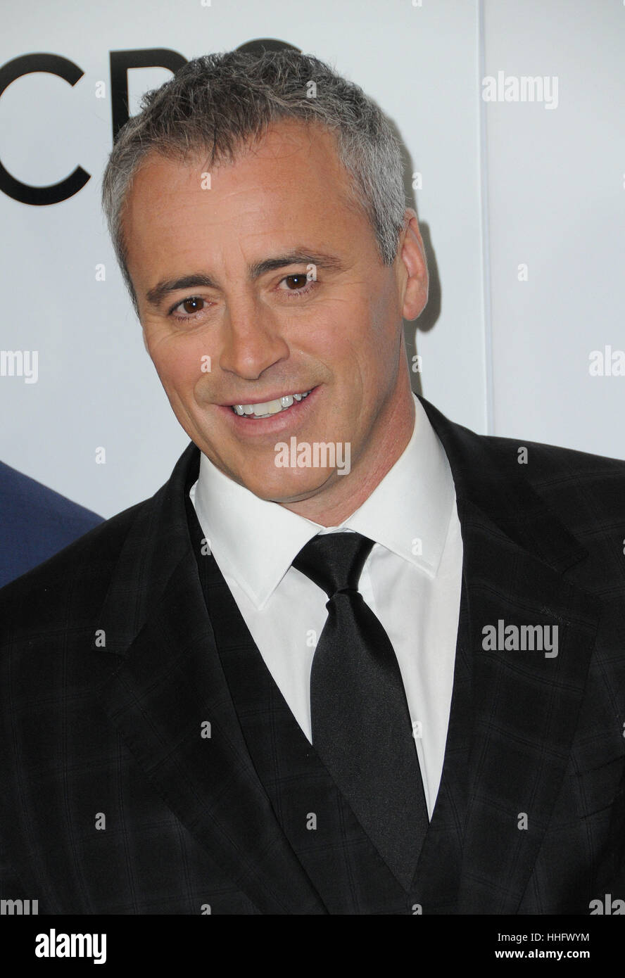 Los Angeles, CA, USA. 18 janvier, 2017. 18 janvier 2017 - Los Angeles, Californie - Matt LeBlanc. 2017 People's Photo Stock
