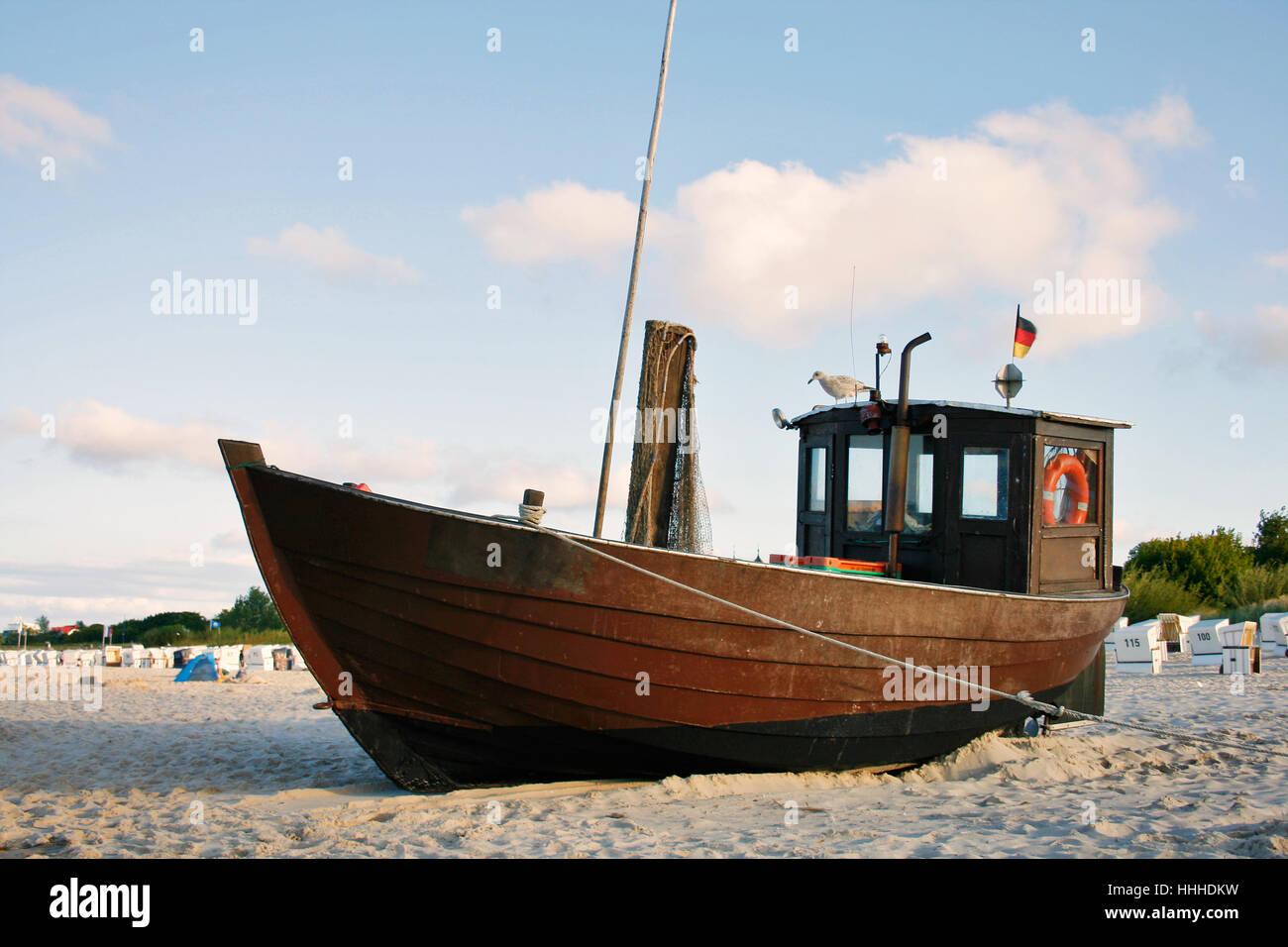 Plage, mer, la plage, mer, eau, la mer Baltique, l'eau salée, mer, océan, Banque D'Images