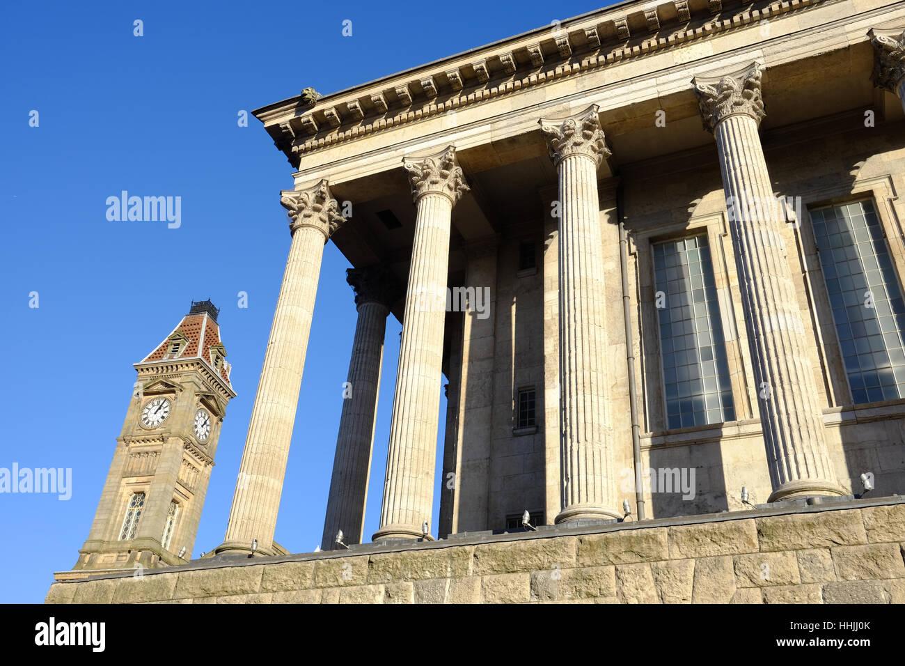 Hôtel de ville de Birmingham Banque D'Images