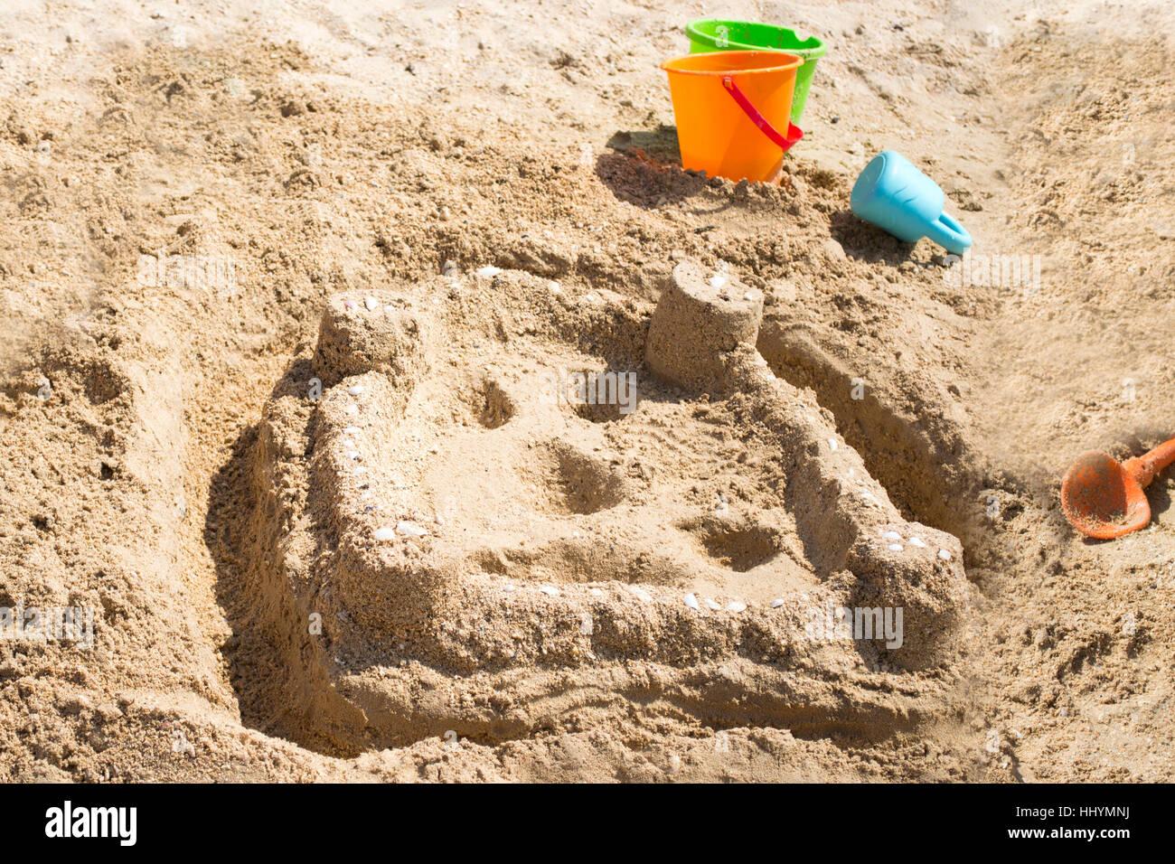 l 39 art du sable sur plage sable blanc white sand beach par les enfants banque d 39 images photo. Black Bedroom Furniture Sets. Home Design Ideas