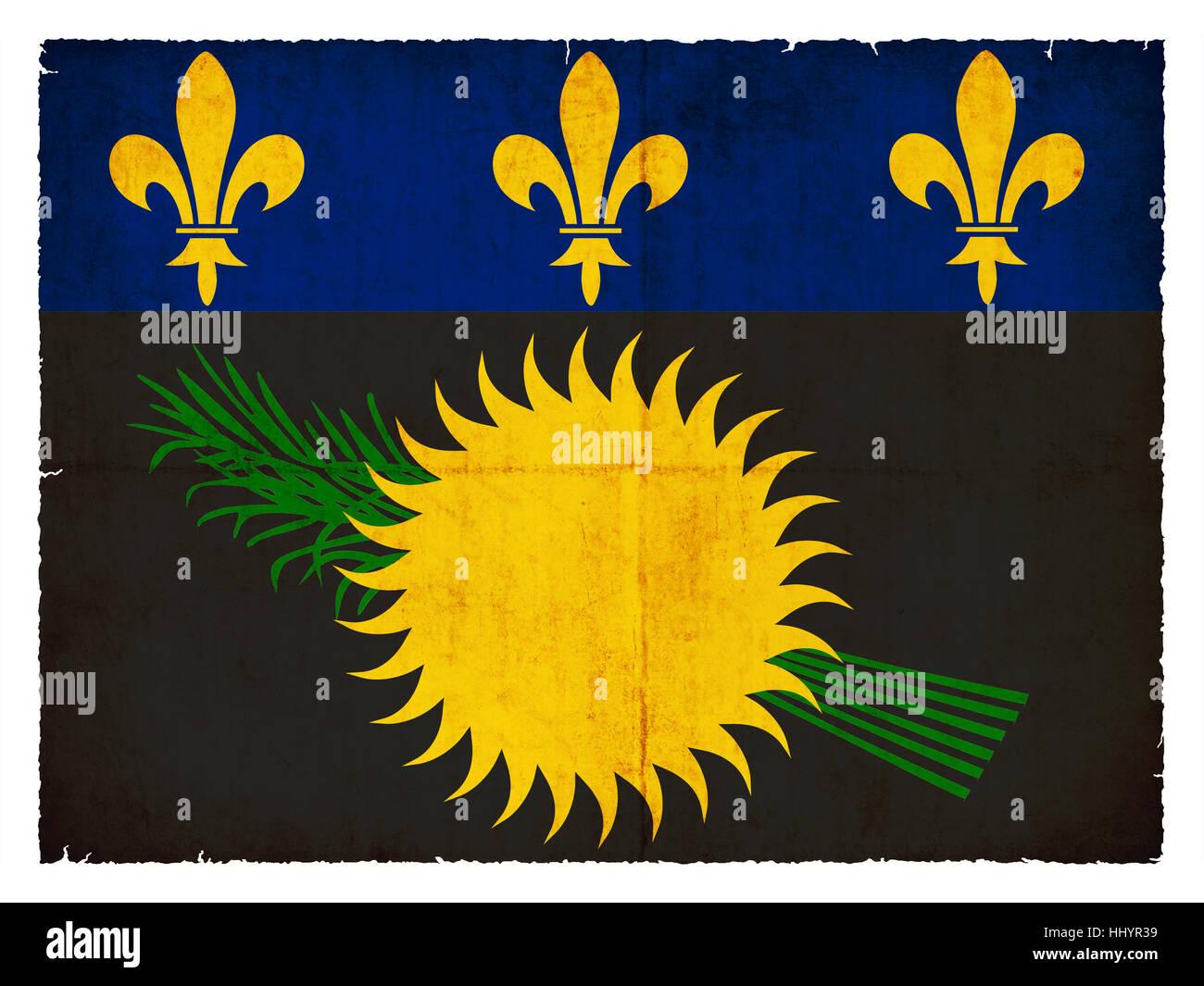 drapeau franais de style de meubles anciens de lamrique centrale dun drapeau les sols antilles