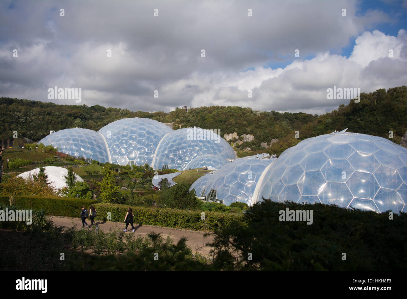 L'Eden Project, Cornwall, UK Photo Stock