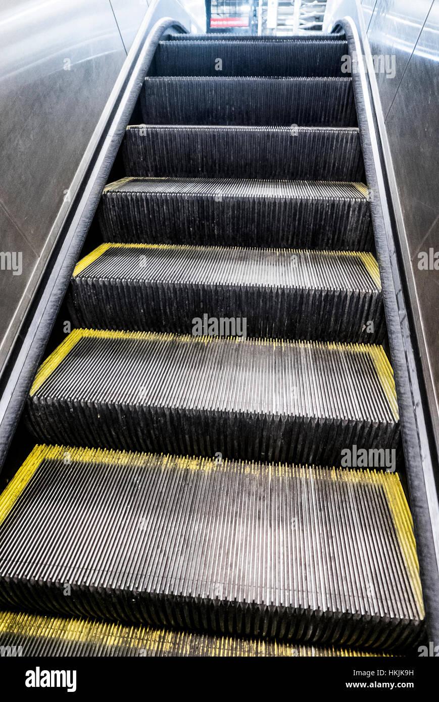 Détail de l'escalier escalier. Photo Stock