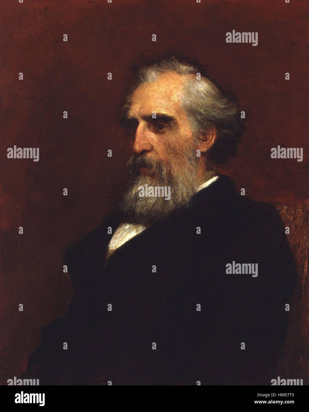 John Passmore Edwards par George Frederic Watts Banque D'Images