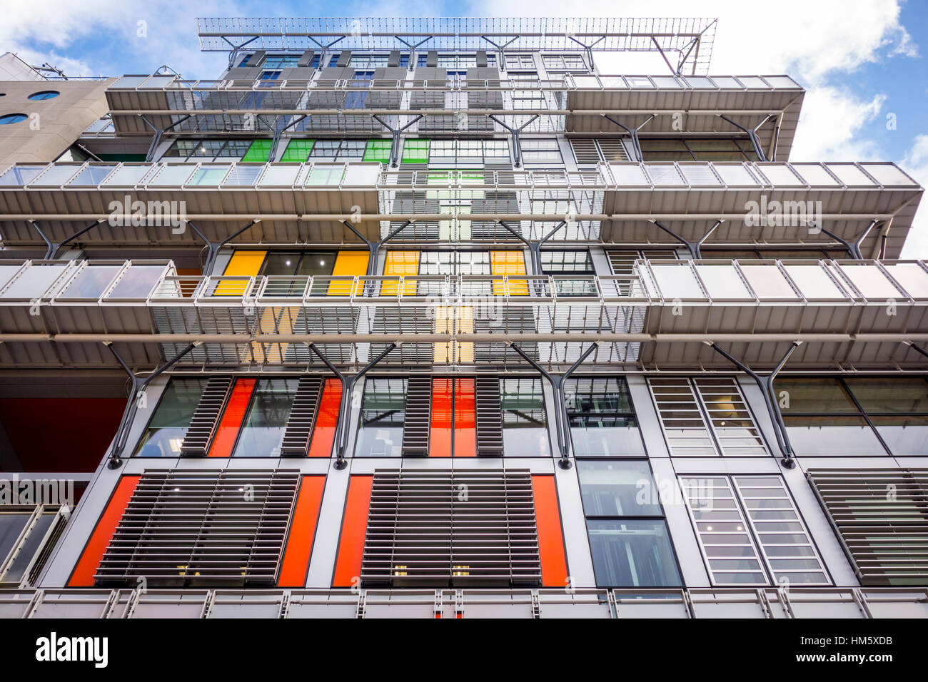 Guy's Cancer Center building, Guy's and St Thomas' Hospital, Londres, Royaume-Uni Photo Stock